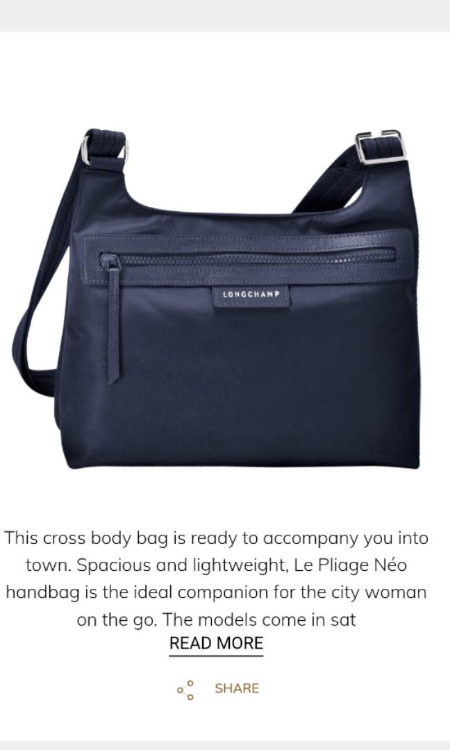 cf6306caac050 Longchamp Le Pliage Neo Crossbody Bag