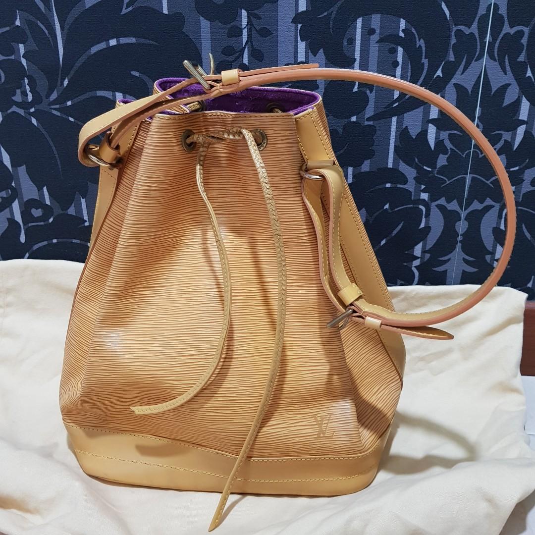 Louis Vuitton Large Noe Epi Leather Shoulder Bag 02d2f406df300