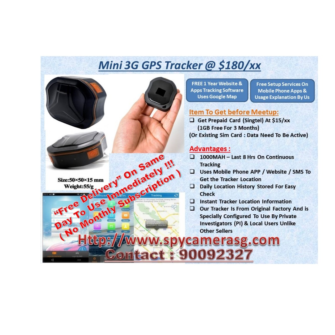 Mini Tracker GPS 3G