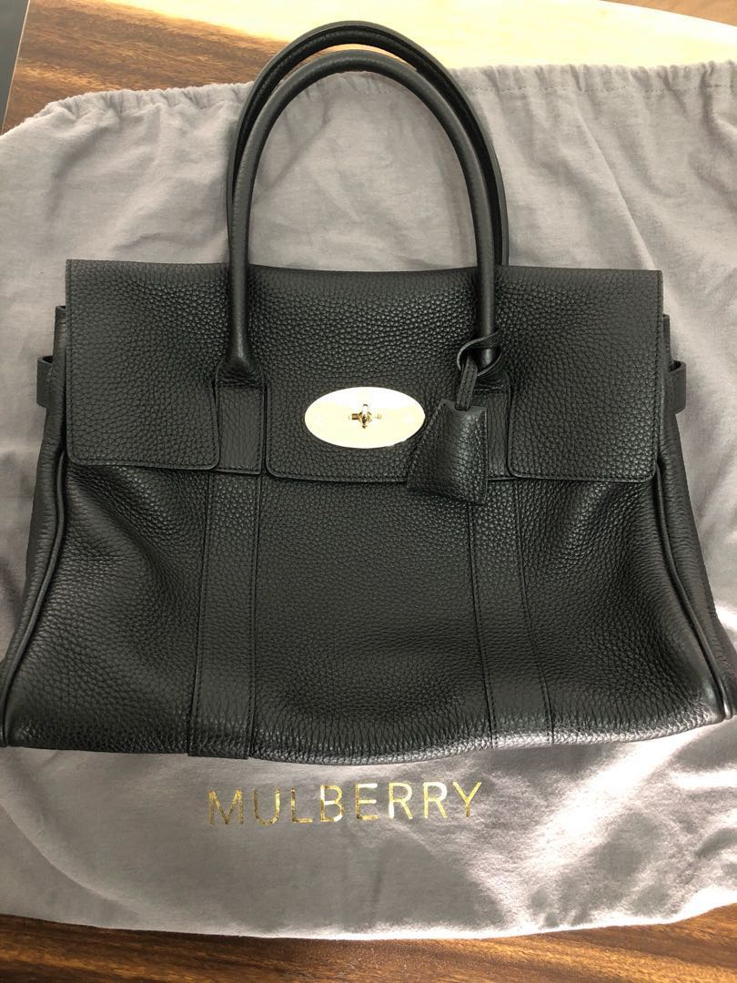 a6649512b1 Mulberry Bayswater (Black)
