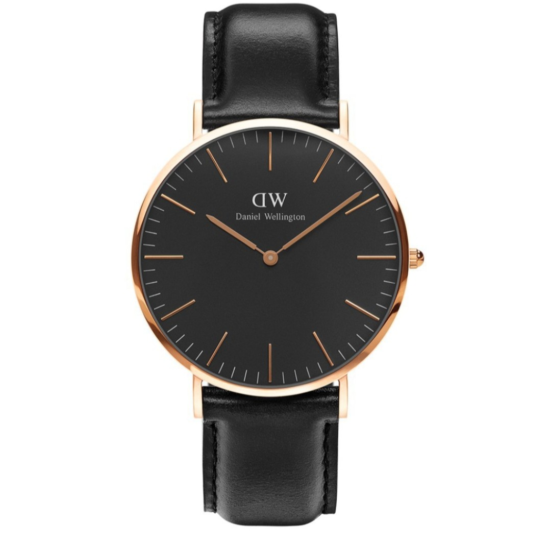 074b379378730 Original Daniel Wellington DW Watch Men Classic Black Sheffield ...
