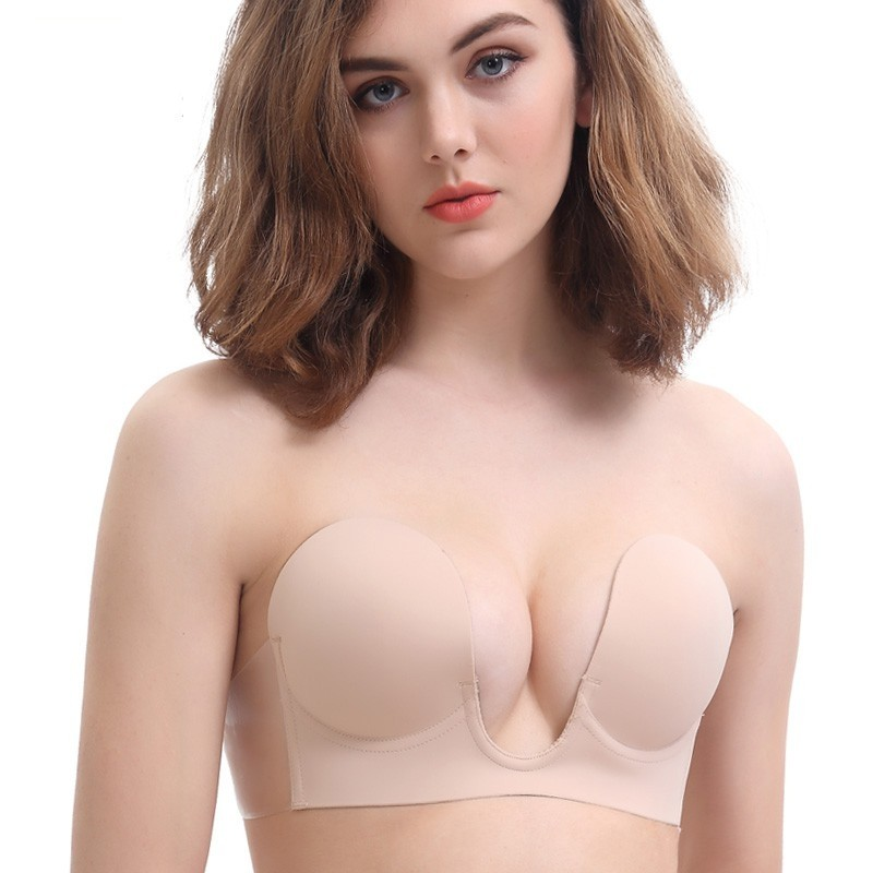 6b89ffce976 PO] U Plunge Backless Strapless Bra, Women's Fashion, Clothes ...