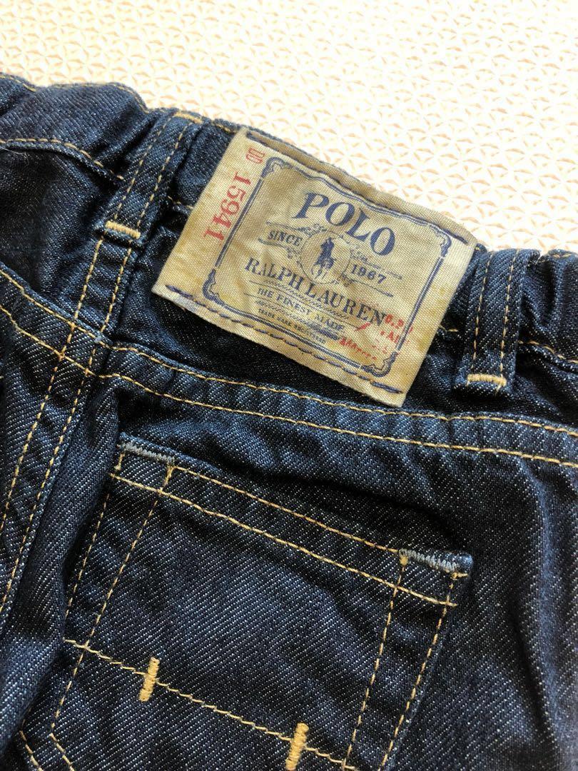 e3c00d37 Ralph Lauren Jeans - Slim Fit (2T), Babies & Kids, Boys' Apparel, 1 ...
