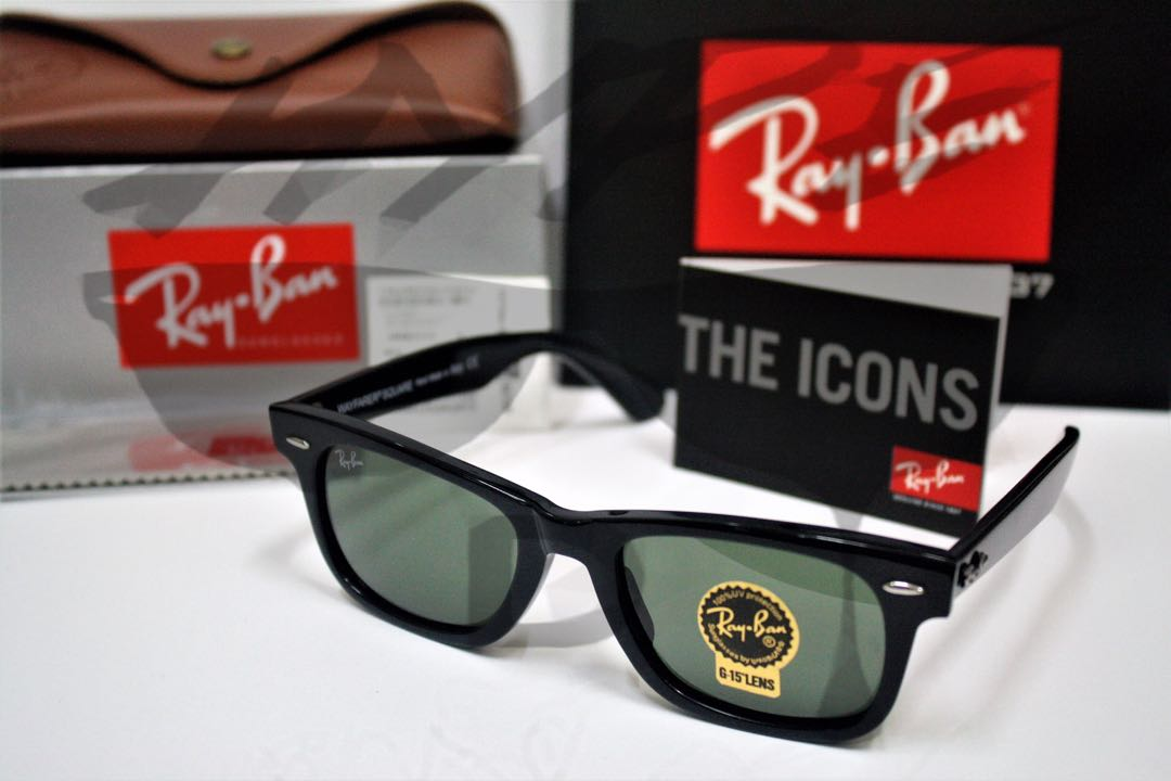 681457e694 Ray Ban Wayfarer Square RB2151 901 52MM Medium.