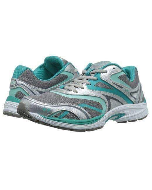167e6317d5364 RYKA Strata Walk Walking Athletic Shoes Sneakers 6.5M Teal/Grey ...