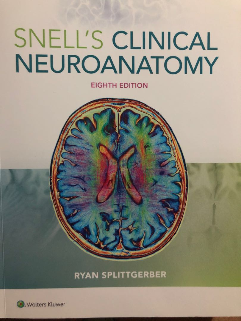 Snells Clinical Neuro Anatomy 8th Edition Textbooks On Carousell