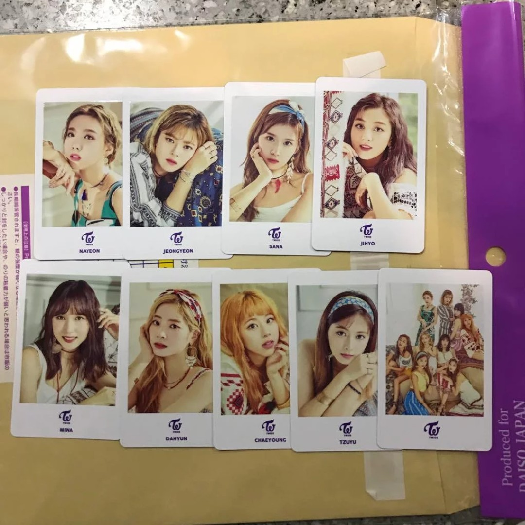 TWICE BDZ 1ST ARENA OFFICIAL PHOTOCARDS, Entertainment, K