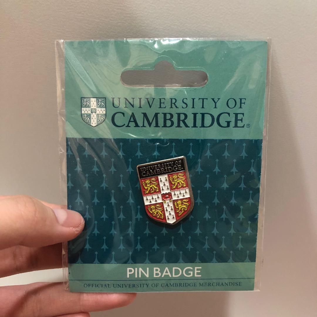 72c7bedcf12a9 university of cambridge pin badge