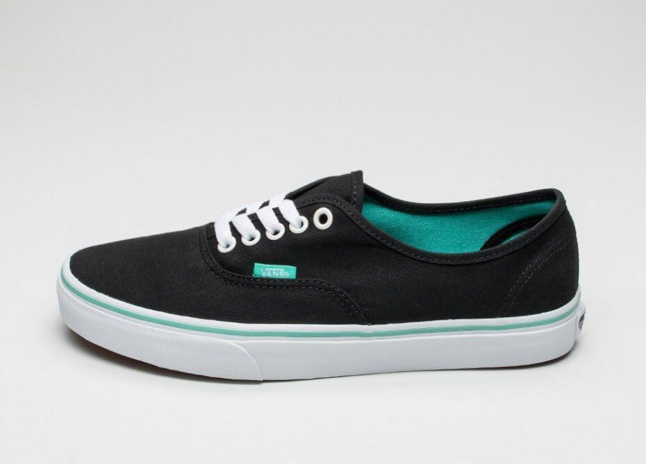Vans Classic Black Turquoise, Women's