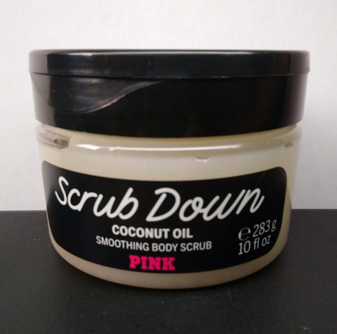 7cc30a8447930 Victoria Secret Pink Coconut Oil Smoothing Body Scrub