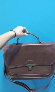 satchel bag with adjustable strap from typo (cotton on)