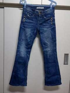 🚚 RODISDENIM韓製小喇叭牛仔褲尺碼XS