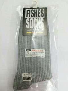 FISHES 防臭加工運動襪 socks anti sweat sportswear no more bad smell