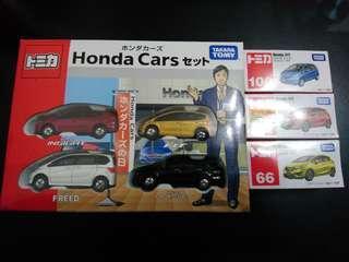Takara Tomy Tomica HONDA CARS COLLECTION BOX
