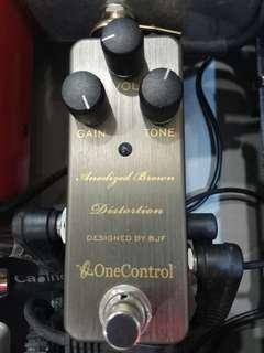 One Control Anodised Brown Distortion