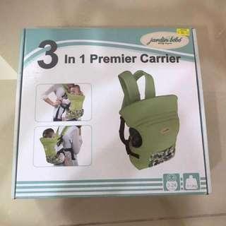 Jardin Bebe 3 In 1 Carrier
