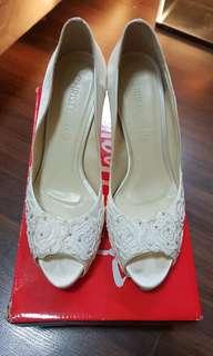 04917b9ff0b Christy Ng Wedding Heels (Swarovski Crystals)