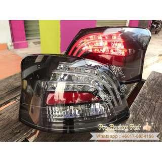 Toyota vios 08 LED Tail Lamp Smoke LED