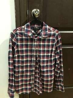 Plaid Flannel Checkered Long Sleeves