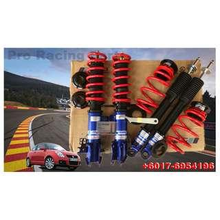 Suzuki Swift 08 Adjustable Suspension