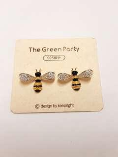 BN Honeybee Crystal Earrings