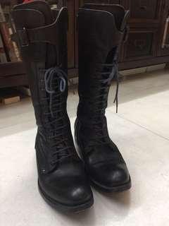 意大利真皮boots