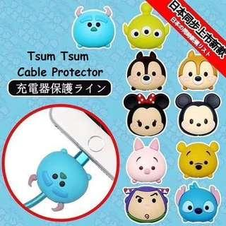 Tsum Tsum Cable Protector Cartoon Mobile Cord Tie Wire