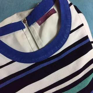 Stripe Carla Top
