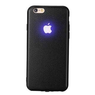 IPhone X Apple logo light-emitting casing