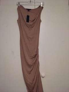 Bodycon fitted maxi dress