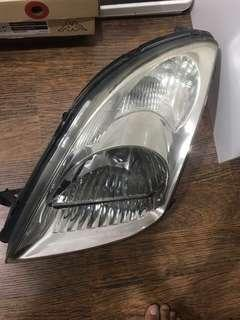 Headlamp original suzuki swift left side