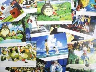 Studio Ghibli Anime postcard Miyazaki Laputa totoro