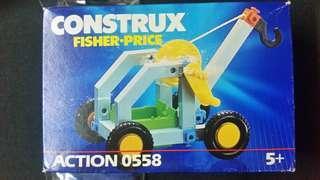 Construx Fisher-Price 工程車仔 Action 0558 #MenXmasGift