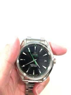 Omega Seamaster Aqua Terra Golf edition 'green'