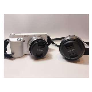 🚚 Sony NEX-F3類單眼 雙鏡頭