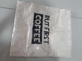 Coffee first bag