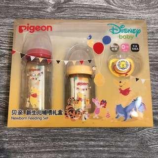 🚚 貝親迪士尼寬口徑PPSU奶瓶 新生兒禮盒 上海帶回
