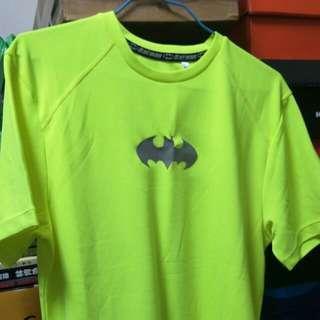 蝙蝠俠螢光運動短ㄒ