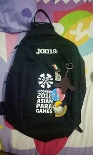 Joma asian para games sling bag bonus pin