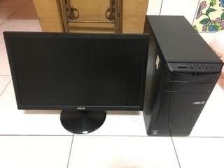 ASUS 電腦螢幕 tt鍵盤 滑鼠
