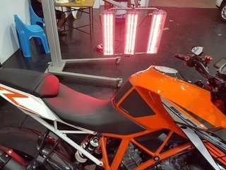 9H ceramic coating for bike