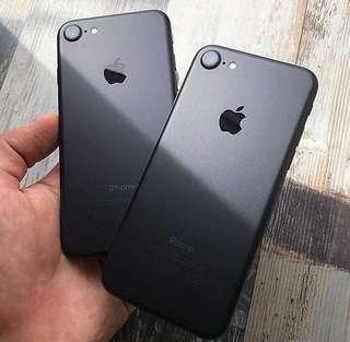 Iphone 7 Matte Black or Jet Black