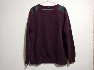 Sweater Crewneck H&M not Uniqlo Zara Man Pull & Bear Topman