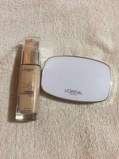 L'Oreal True Match Liquid and Powder Foundation