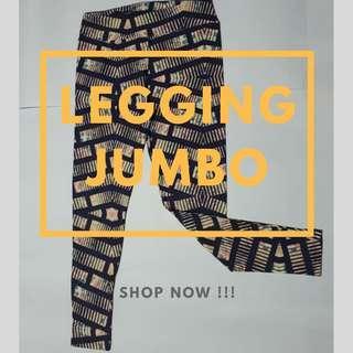 Legging motif sport jumbo