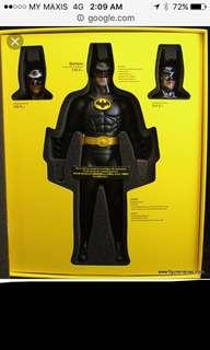 Hot Toys Batman 1989 DX09 Michael Keaton 1/6