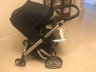 Bertini X2 automatic pram stroller