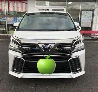 Toyota velfire 2.5