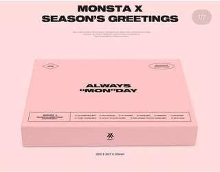 Monsta X Season's Greeting