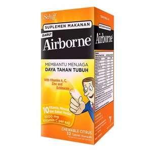 Airborne Chewable Citrus Tablet 32s